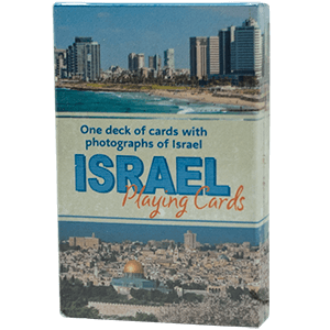 Israel Playing Cards, 1 Deck