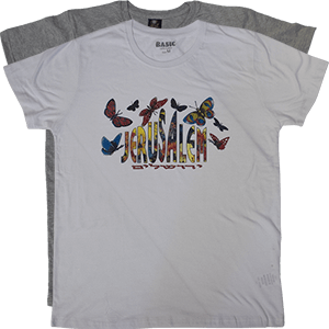 Jerusalem Butterflies Kids T-Shirt