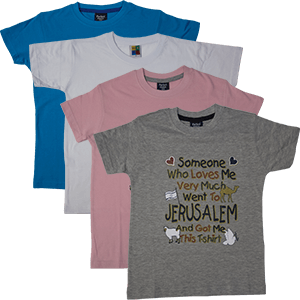 Someone Who Loves Me...Jerusalem Kids T-Shirt