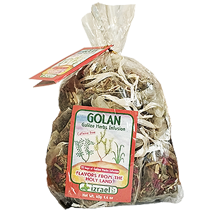 Golan Blend Herbal Infusion Tea, 20 bags