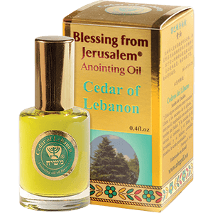 Limited Edition Ceder of Lebanon Anointing Oil