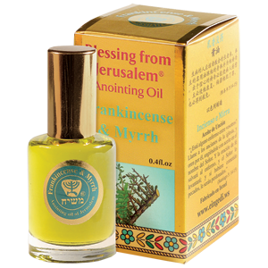 Limited Edition Myrrh & Frankincense Anointing Oil