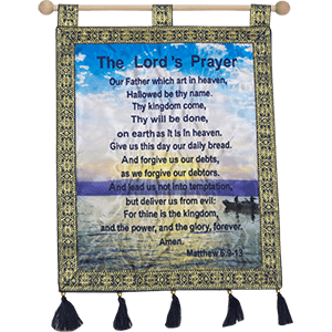 The Lord's Prayer Banner