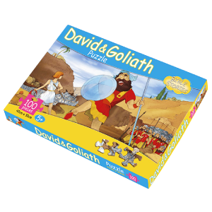 David and Goliath Puzzle, 100 Pieces