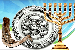 Judaica for Devotions, Shabbat and Holidays