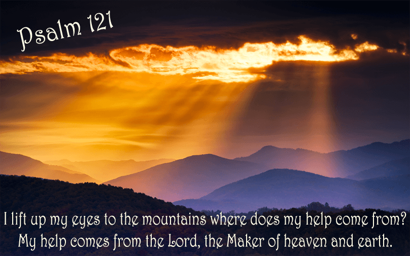 Psalm 121: I will lift up my eyes!