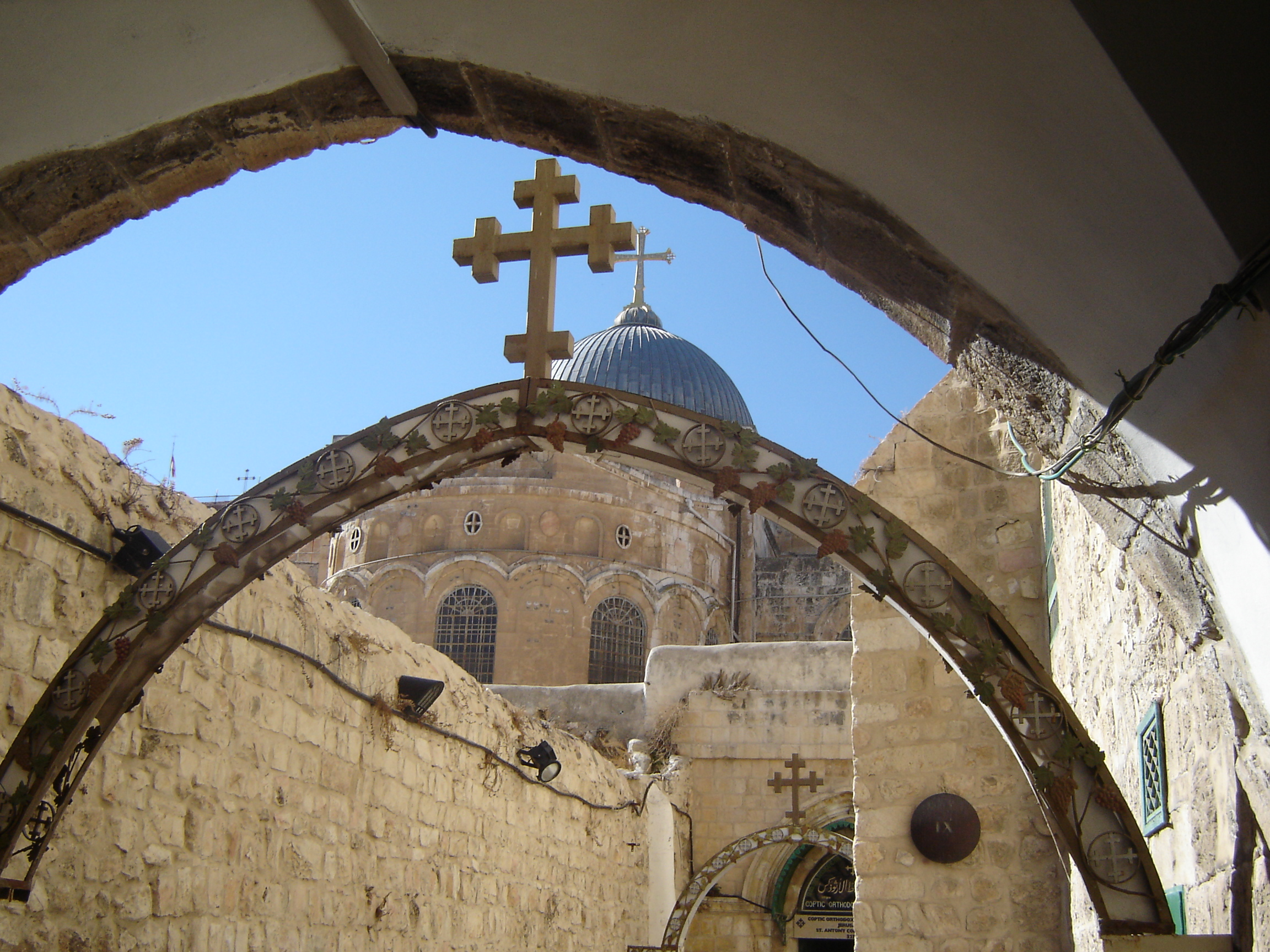 Via Dolorosa and the Road to the Crucifixion