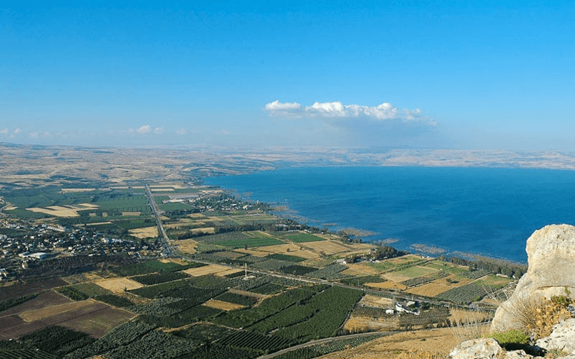Sea of Galilee and the Ministry of Jesus Christ